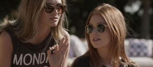 Cassandra tentará ajudar a filha de Germano em 'Totalmente Demais'. (Reprodução/TV Globo)