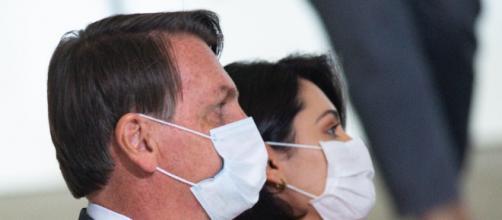 Jair e Michelle Bolsonaro contraíram o novo coronavírus. (Arquivo Blasting News)