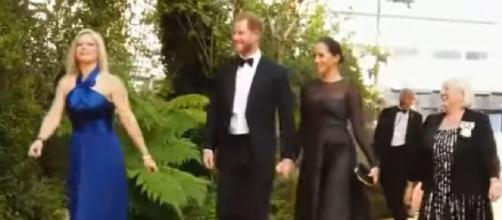 Prince Harry and Meghan Markle put down roots in Santa Barbara. [Image Source: CBS46 Atlanta/YouTube]