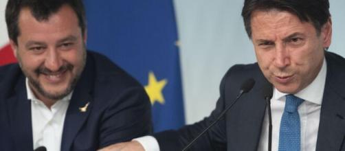 Salvini e Conte ai tempi del governo tra Lega e 5 Stelle.