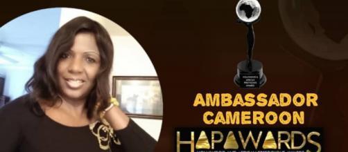 Sylvie Dang Makendi, ambassadrice Camerounaise des Hapawards (c) Sylvie Dang