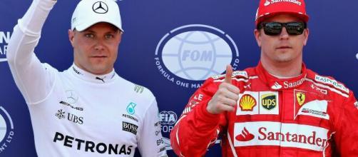 Valtteri Bottas e Kimi Raikkonen são os pilotos que representam atualmente a Finlândia na Fórmula 1. (Arquivo Blasting News)