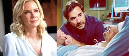 Beautiful, spoiler Usa: Ridge accusa Brooke di aver provato a uccidere Thomas.