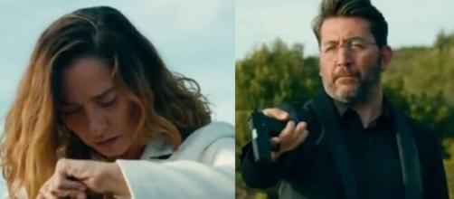 Come sorelle, trama 19 agosto: Karalar trova un'arma da fuoco nella borsa di Cahide.