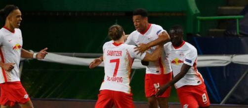 El Leipzig jugará las semis el martes vs el PSG. - goal.com