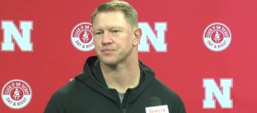 Huskers in trouble, Commissioner Warren pressurized to expel Huskers from Big 10. [Image Source: HuskerOnline Video/ YouTube]