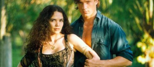 Tereza Seiblitz e Ricardo Macchi, como Dara e Igor em 'Explode Coração'. (Divulgação/TV Globo)