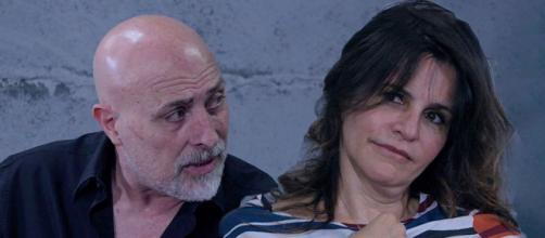 Un posto al sole Mariano (Lello Giulivo) e Nunzia (Nadia Carlomagno).