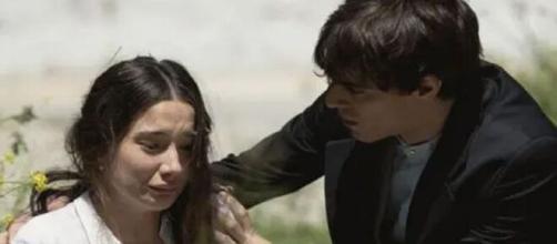 Una vita, trame Spagna: Camino in passato ha subito un abuso, Emilio deve sposare Angelines.