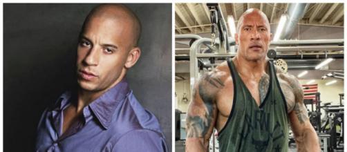 Vin Diesel et The Rock font partie des acteurs les plus riches du monde. Credit: Instagram/vindiesel/therock