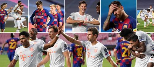 El Bayern arrasó al Barça que quedó derrotado