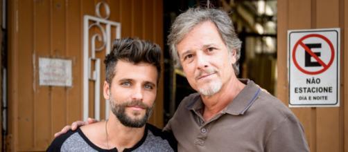 Marcello Novaes já atuou ao lado de Bruno Gagliasso em novela. (Reprodução/TV Globo)