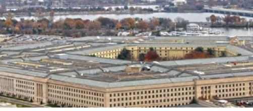 Task force of the Pentagon to study UFO sightings. [Image source/TOP TEN YouTube video]