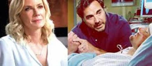 Beautiful, anticipazioni Usa: Ridge incolpa Brooke per la caduta di Thomas dalla scogliera.