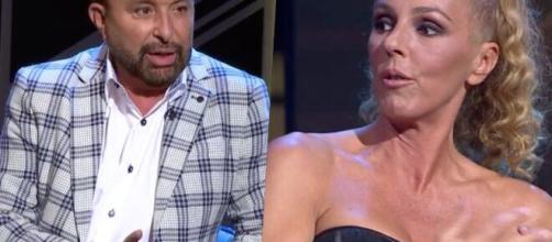 José Manuel Parada y Rocío Carrasco en 'Lazos de sangre' de TVE (El Periódico).