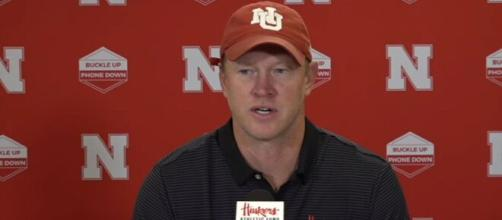 Lone Wolf: Scott Frost left behind to fight alone. [Image Source: HuskerOnline Video/ YouTube]