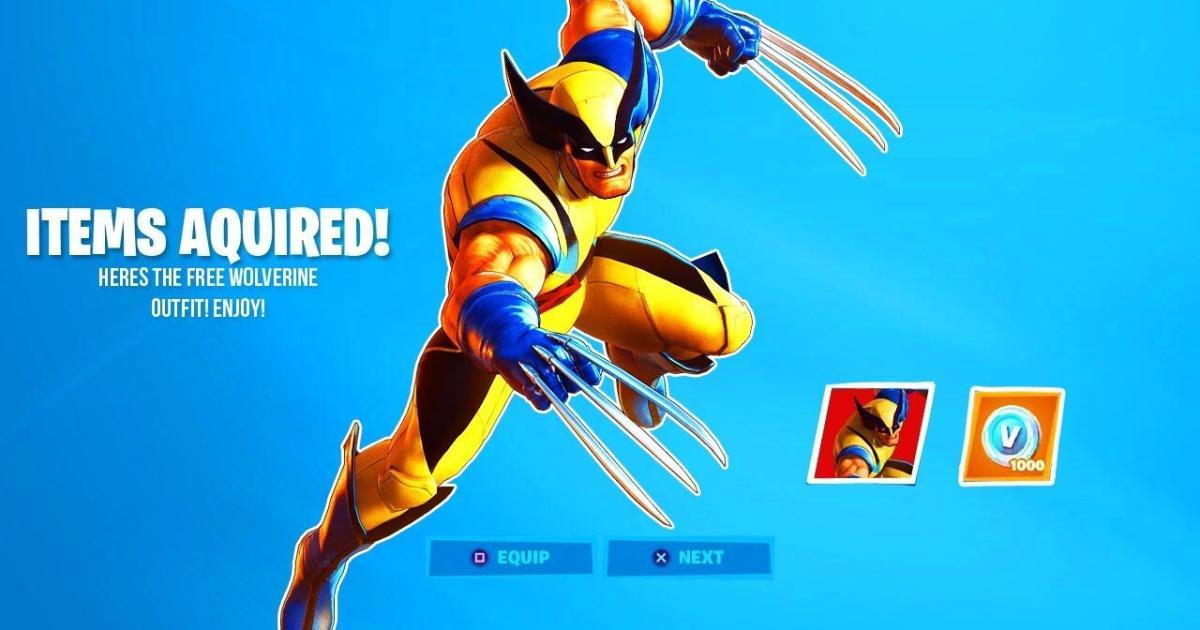 Fortnite Leaks Reveal A Special Season 4 Skin For Wolverine