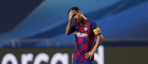 A goleada de 8 a 2 para o Bayern de Munique pode ter colocado um fim à era Messi no Barcelona. (Arquivo Blasting News)