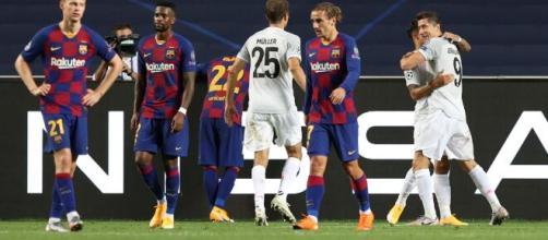 Barcelona protagonizou vexame na Uefa Champions League. (Arquivo Blasting News)