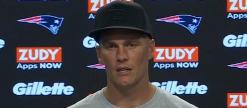 Brady says joining the Buccaneers was a great opportunity. [Image Source: New England Patriots/YouTube]