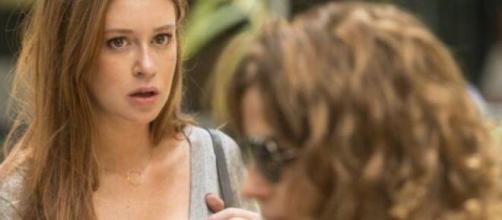 Eliza correrá risco depois de conhecer Sofia em 'Totalmente Demais'. (Reprodução/TV Globo)