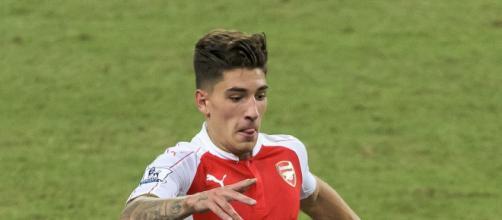 Hector Bellerin, terzino destro dell'Arsenal.