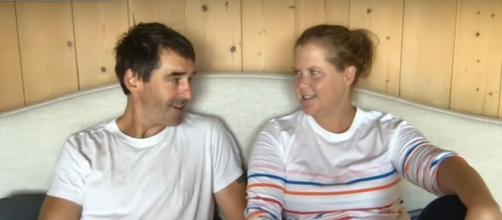 Amy Schumer and her chef hubby, Chris Fischer, celebrate their young son and Emmy nod for cooking show. [Image source: CBS/YouTube]