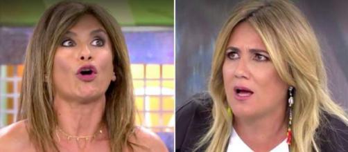 Gema Lopez y Carlota Corredera