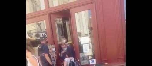 Les images de cette altercation ont été diffusées et très partagées sur les réseaux sociaux, source : capture Facebook