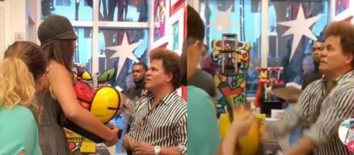 Mulher que quebrou obra de Romero Britto acredita que o artista deve desculpas a brasileiros. (Arquivo Blasting News)