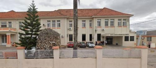 Santa Casa de Alegrete, no Rio Grande do Sul. (Reprodução/Google Street View)