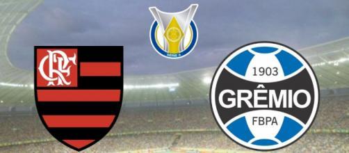 Flamengo x Grêmio: transmissão ao vivo nesta quarta-feira (19), às 19h15. (Arquivo Blasting News)