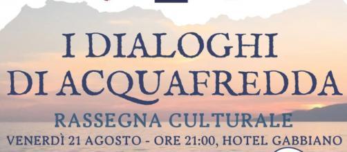 I 'Dialoghi di Acquafredda' proseguono il 21 agosto col Quinto Dialogo.