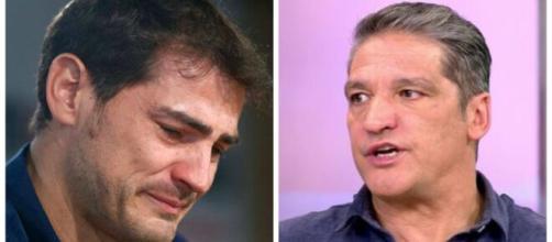 Iker Casillas y Gustavo González.