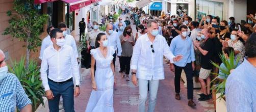 Los Reyes de España visitan Ibiza.