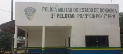 Padrasto foi preso pela Polícia Militar. (Reprodução/Polícia Militar-RO)