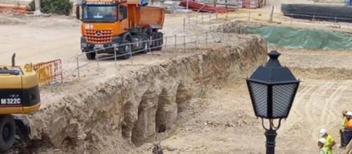 Restos arqueológicos hallados en el 'jardín de la Duquesa' en Vicálvaro (Vicus Albus y Todo Vicálvaro)
