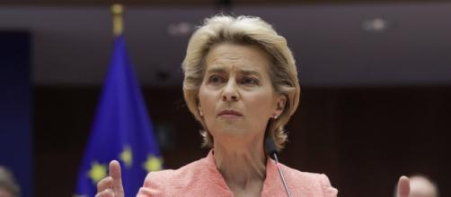 Ursula Von Del Leyen. Presidente della Commissione europea.