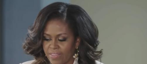 Why Michelle Obama chose Becoming as the title of her upcoming Memoir. [Image source/OWN YouTube video]