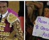 Enrique Ponce en la plaza de toros de osuna