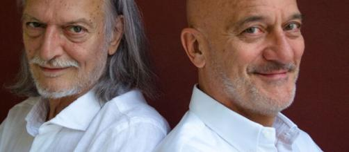 Gigio Alberti e Claudio Bisio.