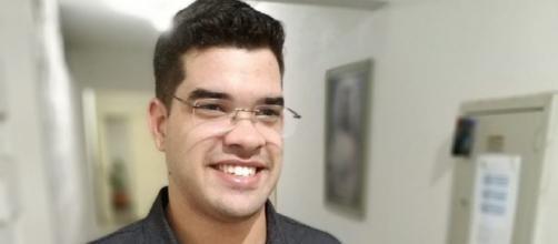 O jovem seminarista perdeu a luta contra o coronavírus. (Arquivo Pessoal)