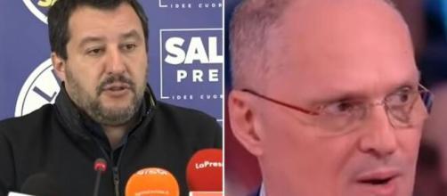 Matteo Salvini e Walter Ricciardi.