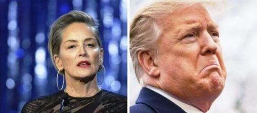 Sharon Stone denuncia la mala gestión de la pandemia por el gobierno trump
