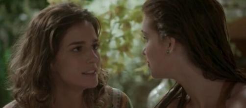"""Sofia tentará matar Eliza em """"Totalmente Demais"""". (Reprodução/TV Globo)"""