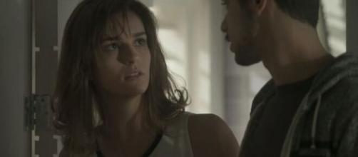 Sofia tentará roubar os pais em 'Totalmente Demais'. (Foto: Globo).