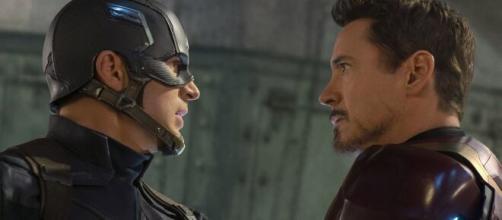 Homem de Ferro e Capitão América se enfrentam. (Arquivo Blasting News)