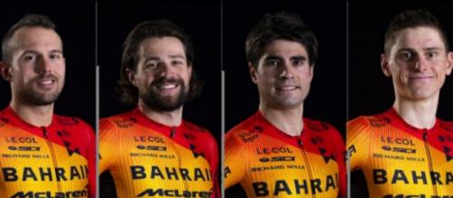 Il Team Bahrain McLaren sarà capitanato da Mikel Landa al Tour de France.