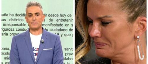 Kiko Hernández y Marta López en imagen