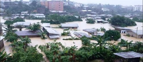 La ville de Douala (Cameroun) ce 21 août 2020 (c) Aristide Bounah